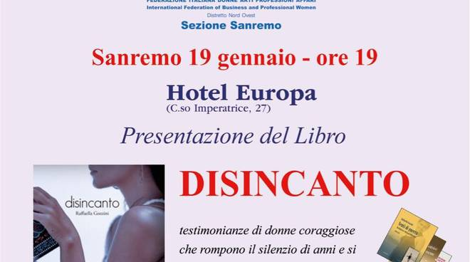 Disicanto Gozzini - evento Fidapa
