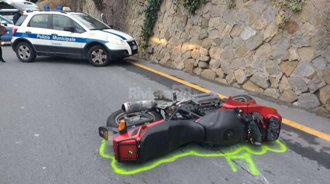 Incidente mortale in corso Mazzini a Sanremo