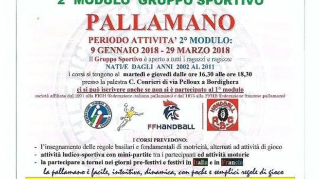 Riveira 24 - Pallamano abc Bordighera