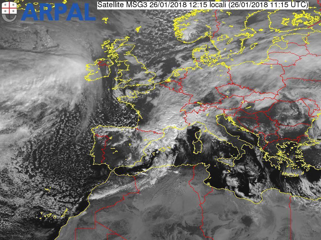 riviera24 - Allerta meteo per neve