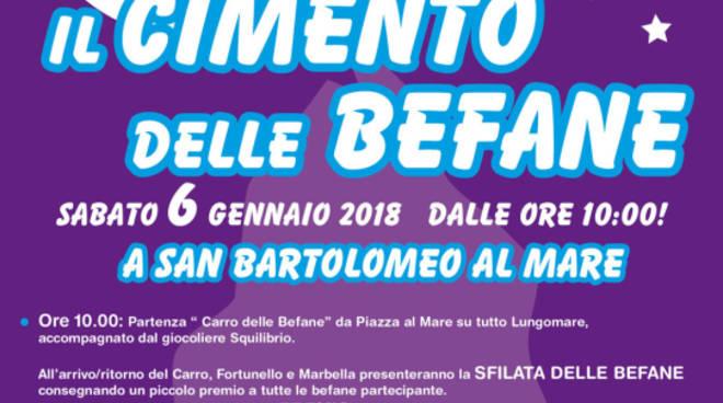 riviera24 -  Befana a San Bartolomeo al Mare
