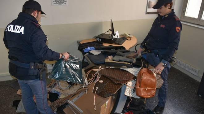 Sequestro merci contraffatte