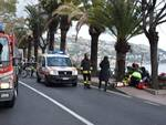 Bordighera, pauroso incidente sull'Aurelia