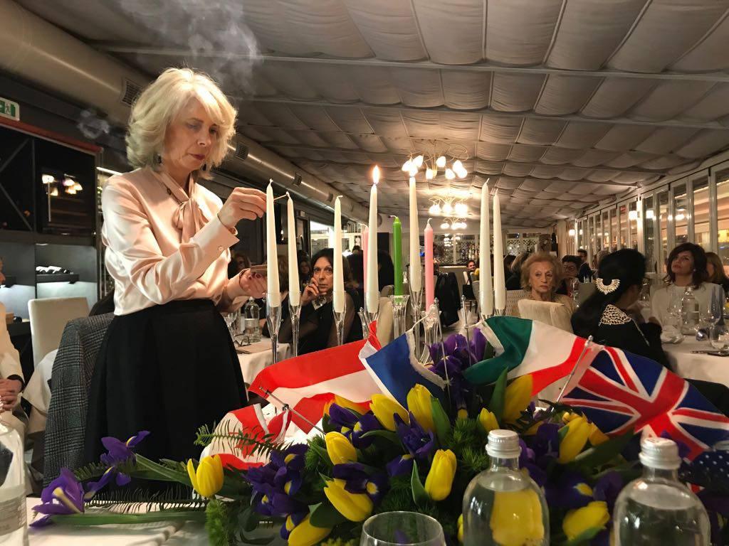 Fidapa Sanremo - Cerimonia delle candele