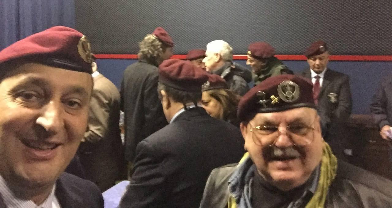 Sanremo, si è svolto ieri l\'incontro dei paracadutisti d\'Italia ...