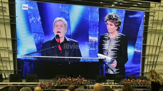 riviera24 - Claudio Baglioni e Franca Leosini