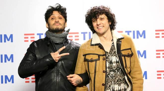 Riviera24-Ermal Meta e Fabrizio Moro conferenza stampa