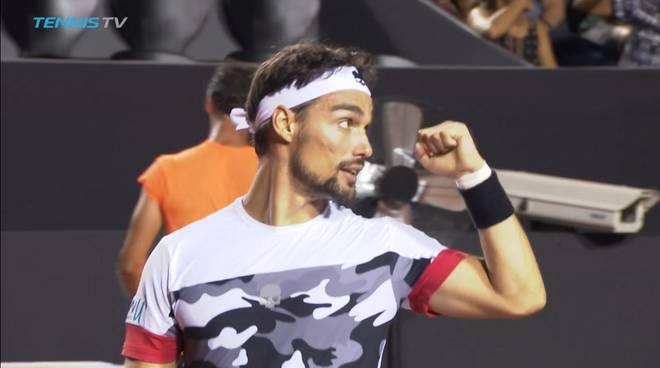 ATP Rio de Janeiro: Fognini avanti in rimonta, ok Cilic