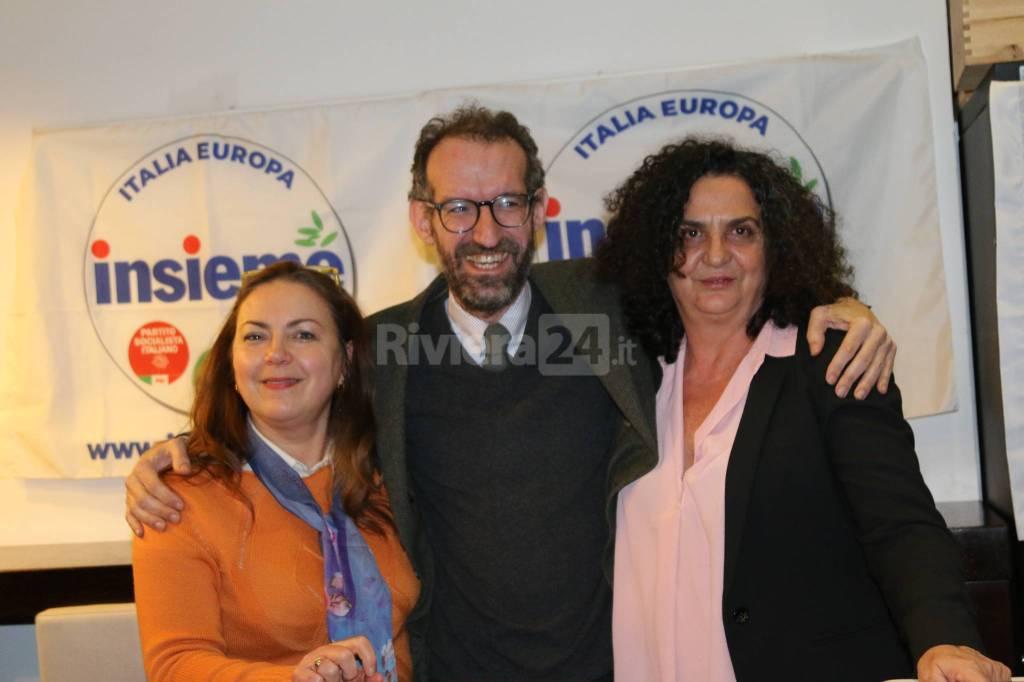 Riviera24-I candidati della lista Insieme si presentano alla cittadinanza