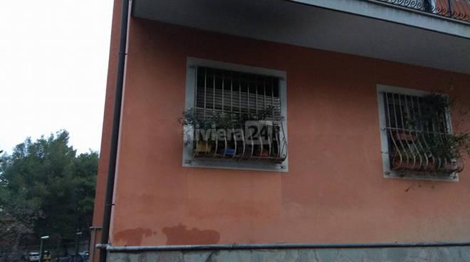riviera24 - incendio imperia via amoretti