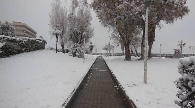 riviera24 - Neve a Ventimiglia