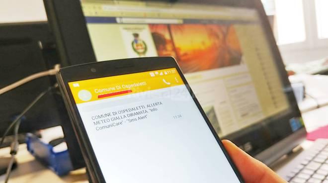 riviera24-sms alert allerte meteo ospedaletti