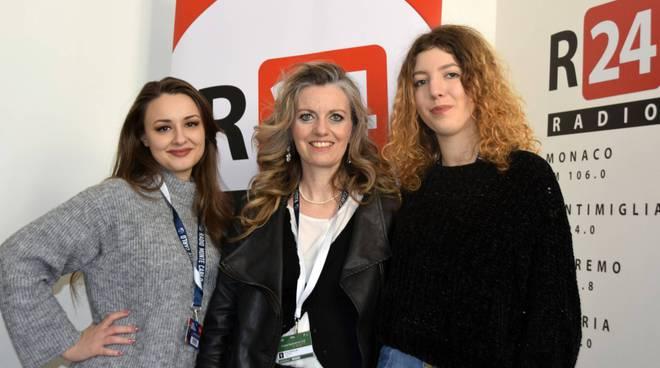 "riviera24 - Soprano "": Elisa Bartalini, Lucia D'Errico e Silvia Giannini"