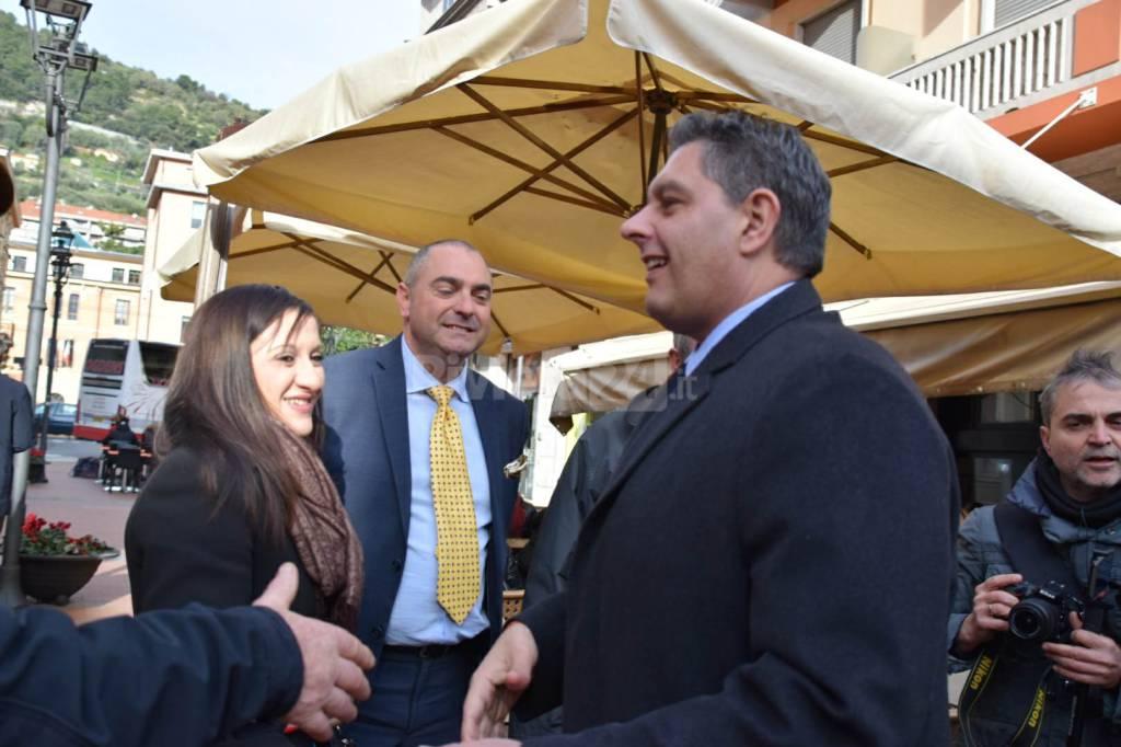 riviera24 - Toti a Ventimiglia