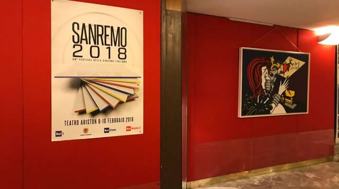 """Sanremo, esposizione """"Criminal heart"""" all'Ariston"""