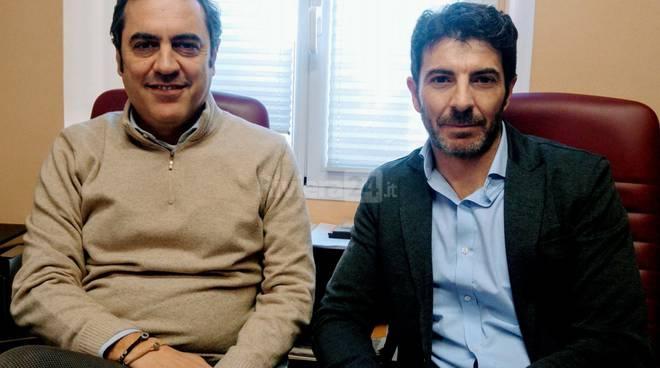 Fabio Operti e Claudio Sparago