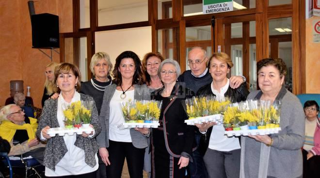 Festa della donna, Fidapa Sanremo a Casa Serena
