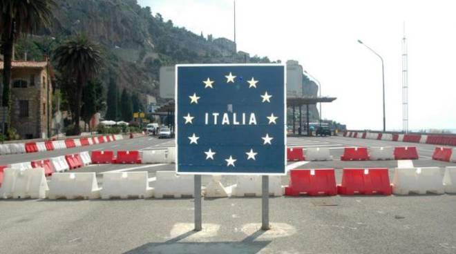 Frontiera italia Francia