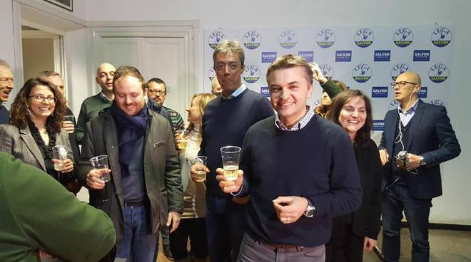 La Lega festeggia in Liguria