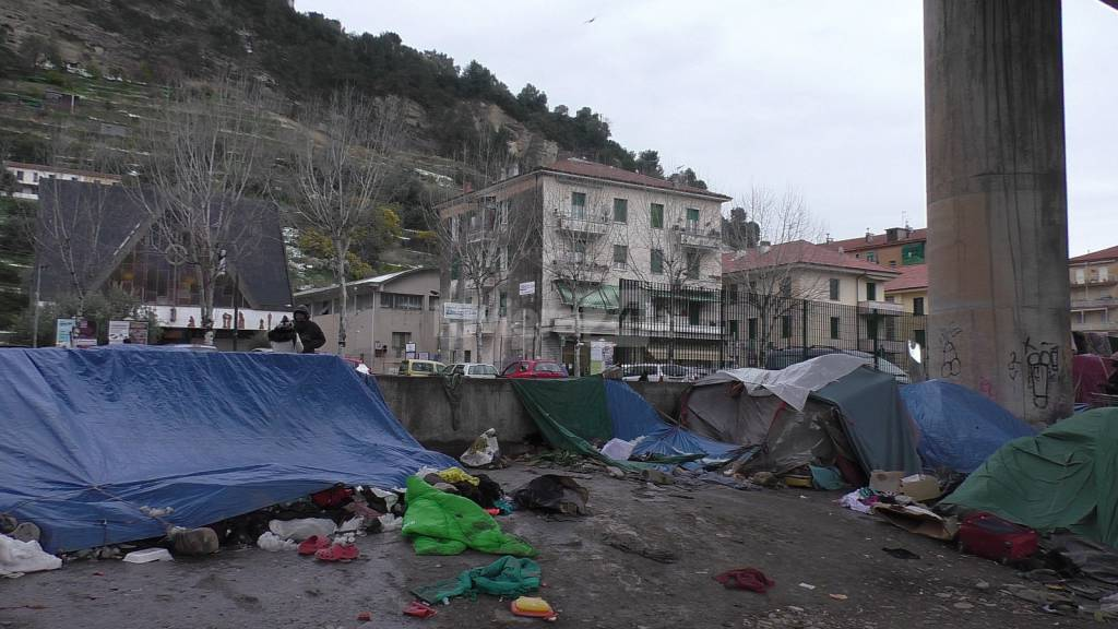 Migranti a Roverino