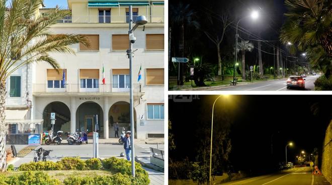 Ospedaletti punta sul risparmio energetico lilluminazione pubblica