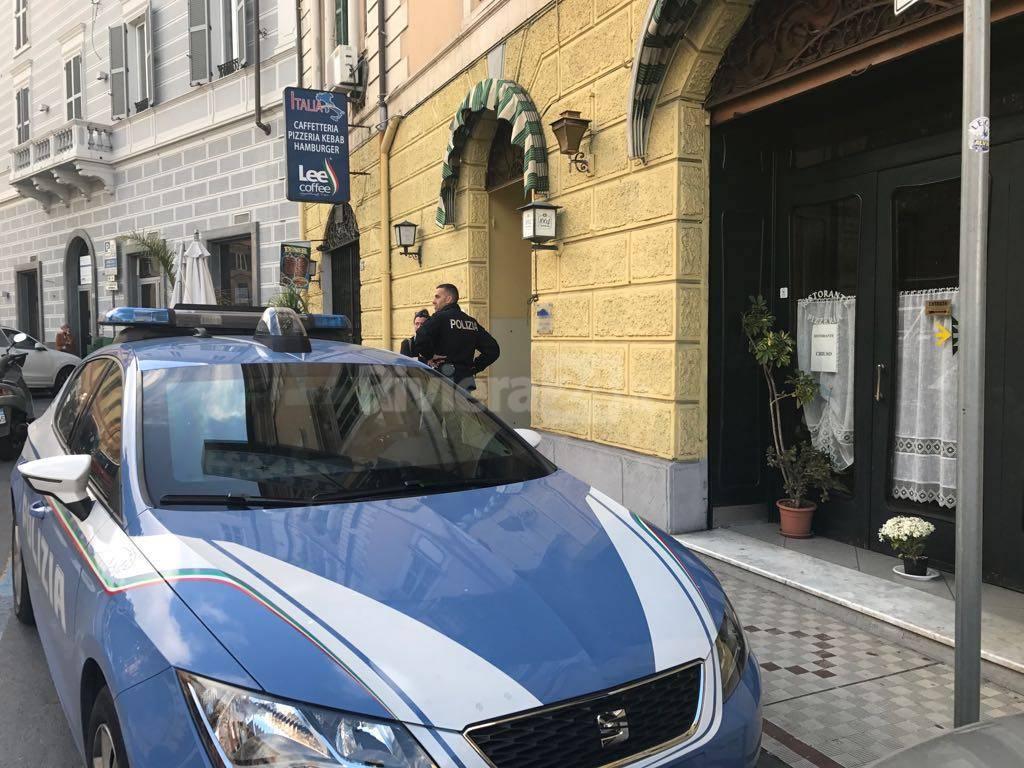 riviera24 - polizia imperia viale matteotti