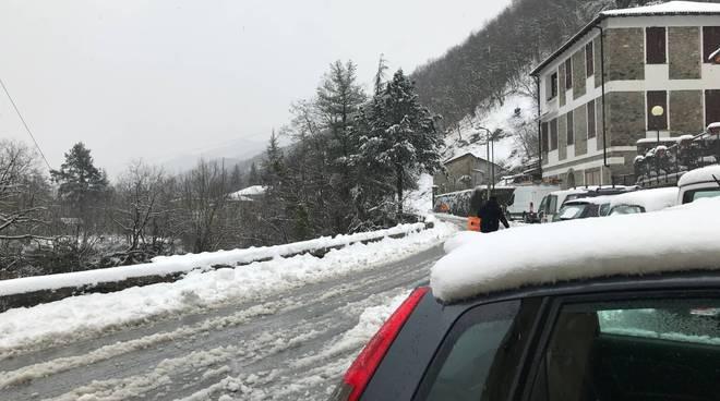 Riviera24- Pornassio neve