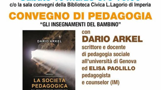 riviera24 - Convegno di pedagogia con Dario Arkel
