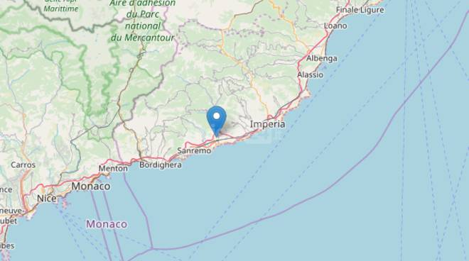 riviera24- Terremoto a Taggia