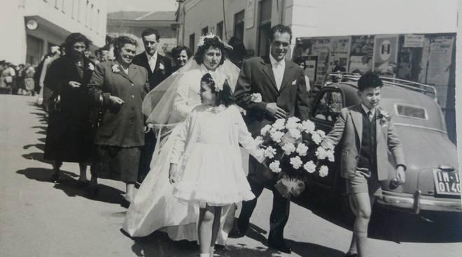 Clara e Aldo Faraldi, nozze di diamante
