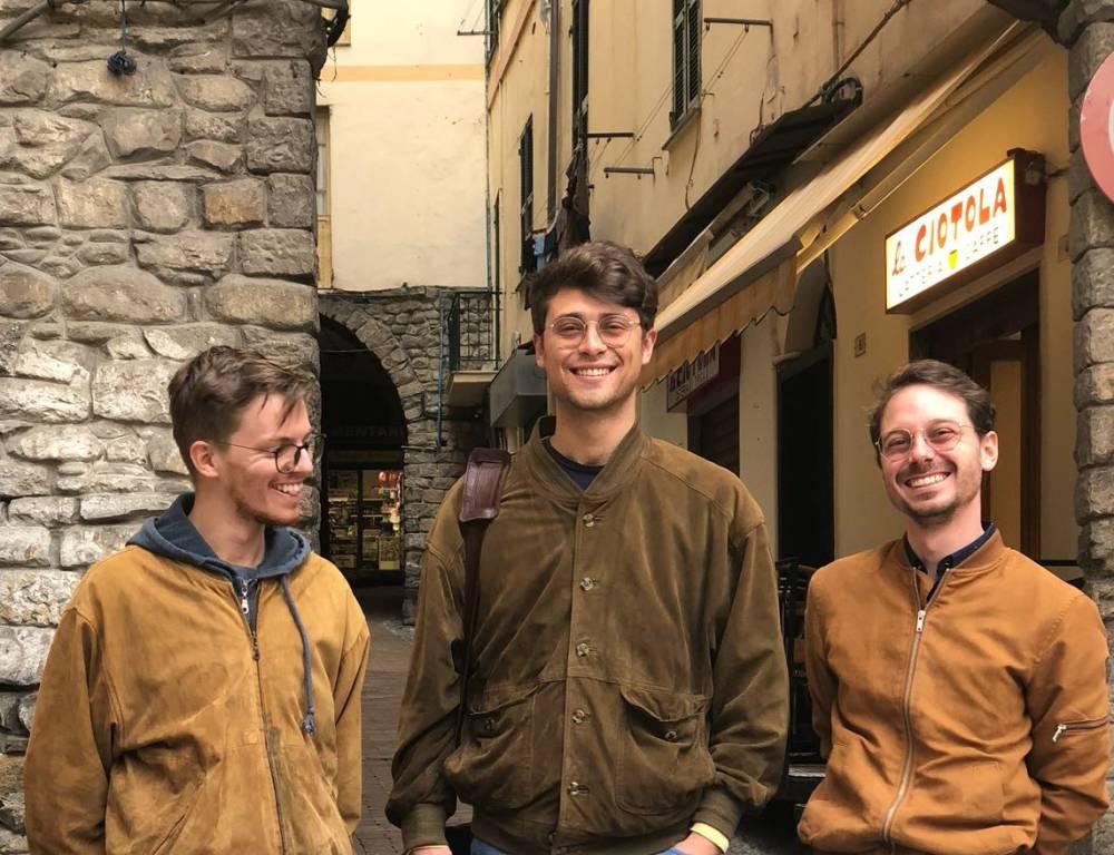 Francesco Scalarandis, Giulio Cremieux e Giulio Filippi di Adventures Sanremo