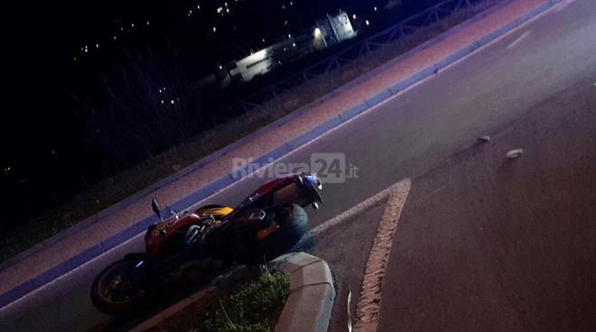 incidente moto camporosso