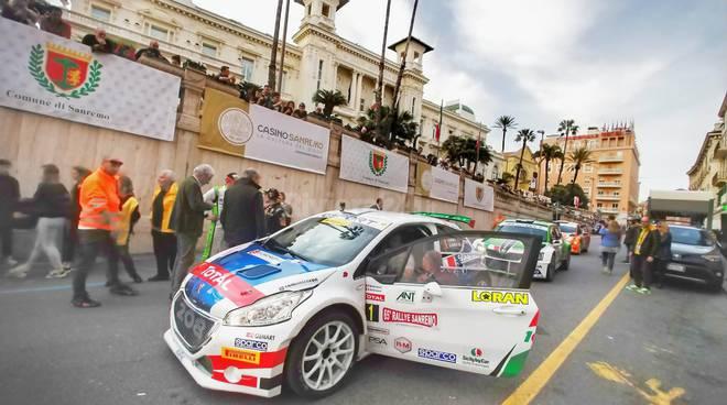 Rallye Sanremo 2018, l'arrivo