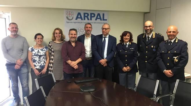 riviera24 - Arpal e Polizia