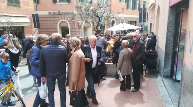riviera24-Con Claudio per Imperia, inaugurazione del point elettorale