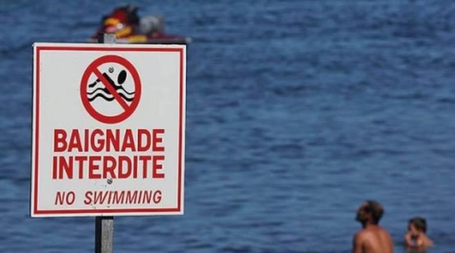 riviera24 - divieto di balneazione francia francese