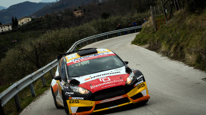 riviera24 - Luca Panzani - Ford Fiesta R5 - Plus Rally Academy