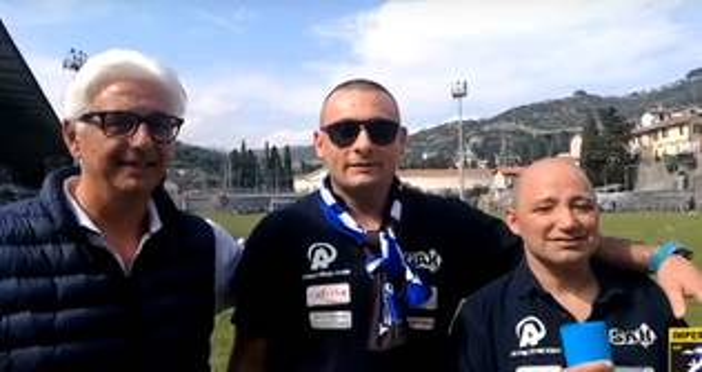 riviera24 -  Matteo Fiani, Daniele Ciccione e Alessandro del centro Isah
