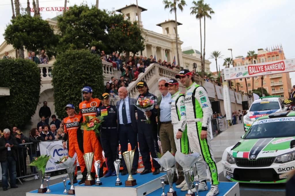 riviera24-Rallye Sanremo 201 vince la coppia Andreucci-Andreussi