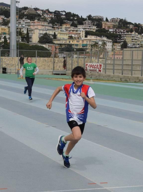 Sanremo, Foce-80 esordienti atletica