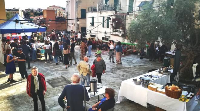 Evento Pigna Mon Amour e Adventures piazza Santa Brigida