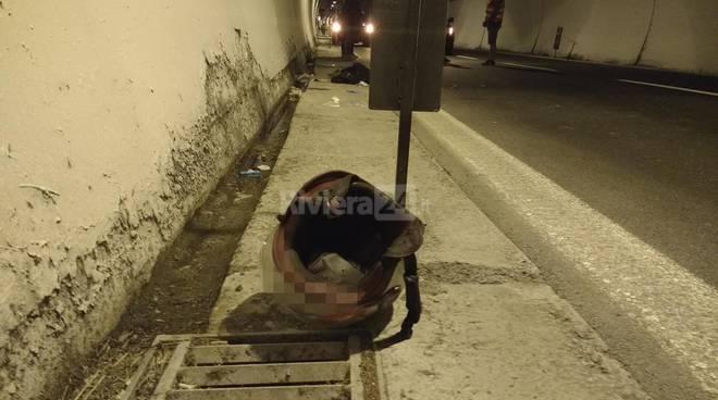 Incidente Aurelia bis Sanremo