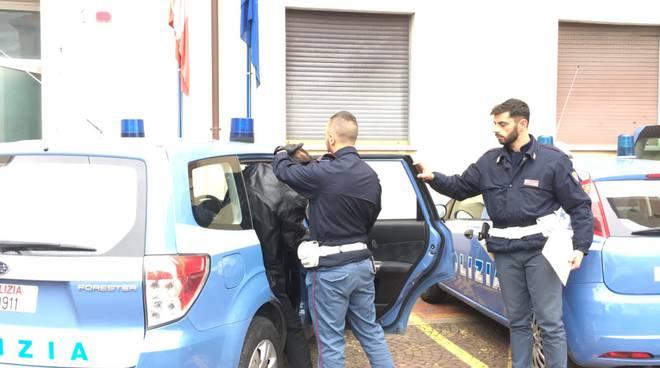 polizia di frontiera arresto