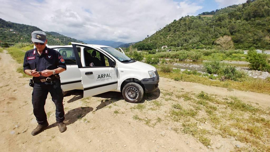 riviera24-Camporosso, blitz dei carabinieri forestali discarica riemersa