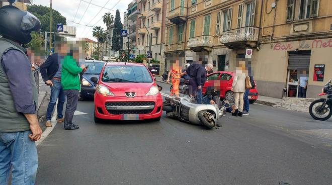 riviera24 - Incidente a Sanremo