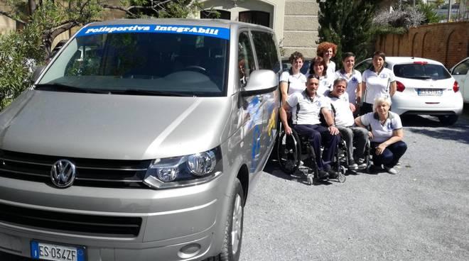 riviera24 - Polisportiva IntegrAbili pulmino