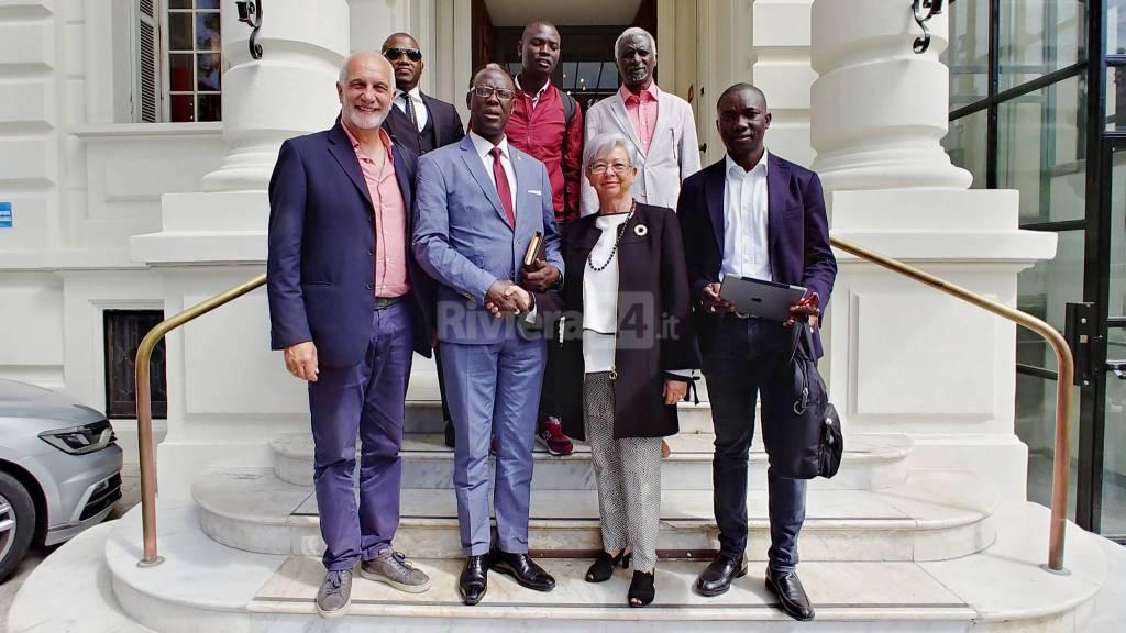riviera24-Sanremo Comune e delegazione dello Stato del Senegal