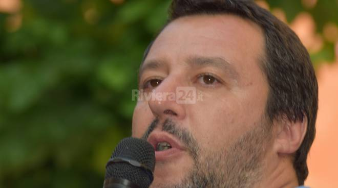 Salvini a Imperia