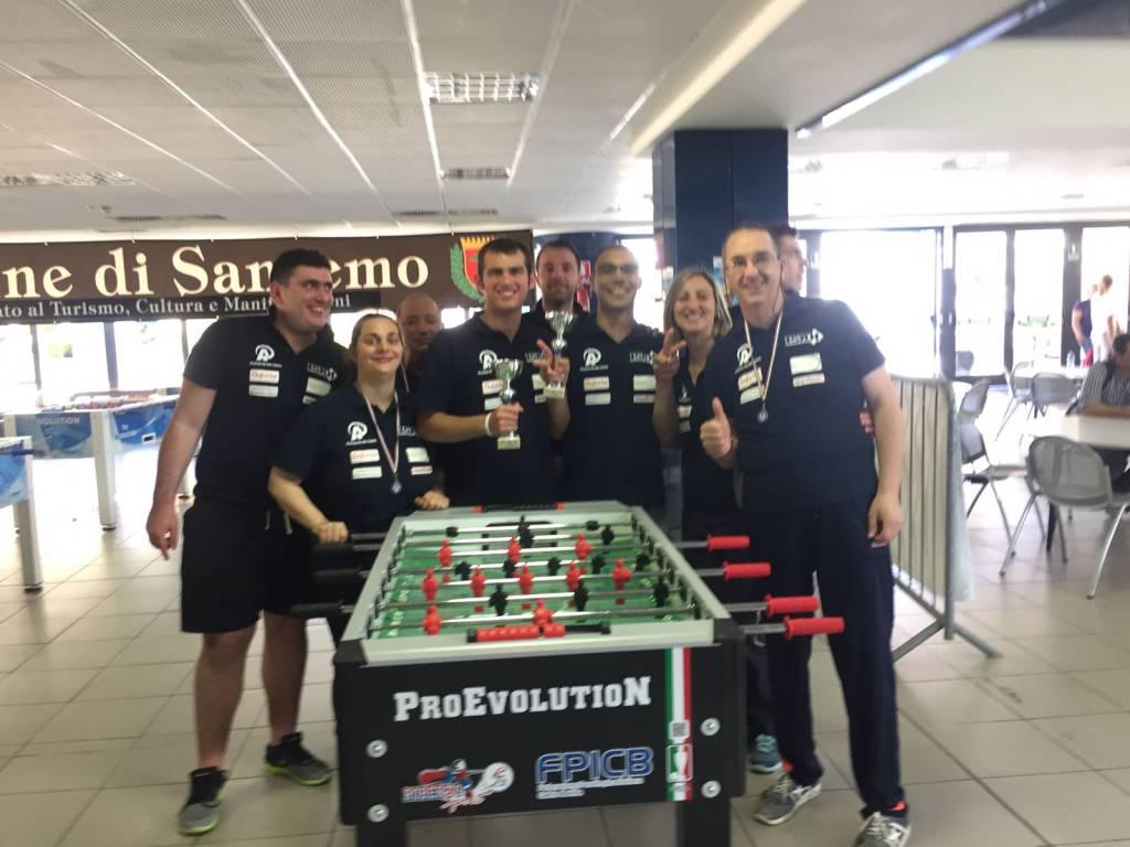 Sanremo, al Palafiori il campionato nazionale di Calcio Balilla: i risultati