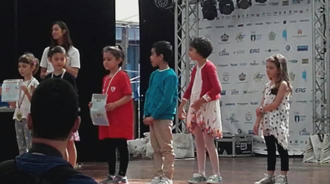 """studentesse di Sanremo a """"Il bello dello sport"""""""